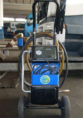 Pulizia serbatoio e filtraggio gasolio